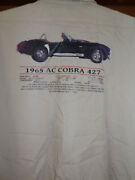 1965 Shelby A/c Cobra 427 Mechanic-shop Shirt Sizex-large Used/recycled