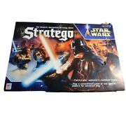 Star Wars Stratego Galactic Battlefield Board Game Mb 2002 100 Complete Euc