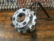 Vintage Industrial Steampunk Aluminum Gear Pulley Sprocket Lamp Base Project