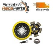Act Race Sprung 6 Pad Clutch Kit For 86-92 Toyota Supra 91-96 Soarer Gt Xt/