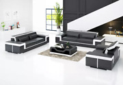 Design Sofa Set 321 Seat Set Pads Couch Luxury New