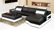 Design Corner Set Sofa Couch Pads Coffee Table New 2tlg