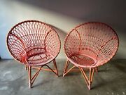 Outstanding Pair Of Marrakash Lounge Chairs By David Francis
