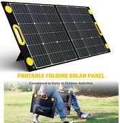 Solar Charger Portable Foldable Solar Panel For Power Station Portable Generator