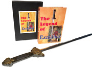 Legend Of Excalibur Stage Magic Trick Appearing Sword From Book King Arthur Pro