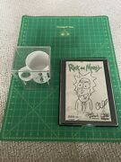 Rick And Morty Issue 1 Variant Justin Roiland Sketch Signed And Coffee Mug