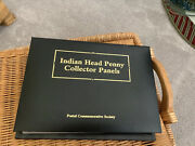 Postal Commemorative Society Indian Head Penny Collector Panels 1890-1909a Deal