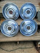 4 Real Nice 1954 1955 Cadillac Will Cover Hubcaps