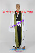 Bleach Cosplay Kisuke Urahara Captain Of Squad 12 Cosplay Costume With Lining