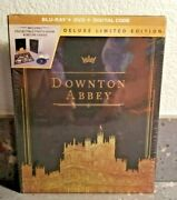 Downton Abbey Blu-ray + Dvd + Digital Box Set Deluxe Limited Edition  New