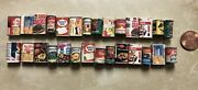 28 Vintage Miniature Grocery Cans Boxes Doll House Food 112