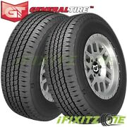 2 General Grabber Hd Lt245/75r16 120/116s E/10 Commercial Traction Truck Tires
