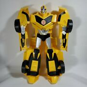 """Hasbro Super Bumblebee Large Talking Lights Sounds Transformers Collectible 20"""""""