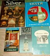 Lot Of 4 Silver Collectible Reference Hc Books+1 Antiques How To Price Guide Pb