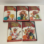 Best Of The Muppet Show 5 Volumes 5 Dvd Set 25th Anniversary