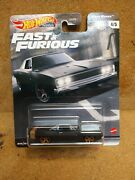 2021 Hot Wheels Premium Black Dodge Charger-fast And Furious F9