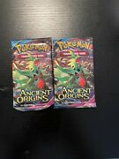 Pokemon Ancient Origins Factory Sealed Booster Pack X2