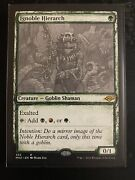Ignoble Hierarch, Sketch Modern Horizons 2, Magic The Gathering, In Hand