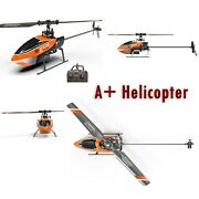 A+ Helicopter 2.4g 4ch 6 Axis Gyro Altitude Hold Flybarless Rc Helicopter