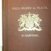 1872 Victorian Silver And Gold Hallmark Hall Mark Reference Book Unicorn Coat Of