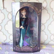 Queen Anna Disney Store Limited Edition 17 Doll 2020 Frozen 2 Le 8000 New Nrfb