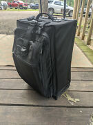 Commercial Grade Heavy Duty Luggage Works Carry On Roller Bag