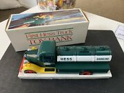1985 The First Hess Truck Toy Bank, N.i.b.