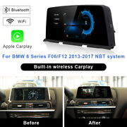 Android 10 Car Gps Player Video Navi Wireless Carplay For Bmw 6 Series F06 F12