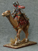 Roman Legionary On A Camel Elite Tin Soldiers St. Petersburg Scale 1/32 54 Mm