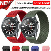 Braided Nylon Sport Watch Band Strap For Huawei Watch Gt/gt2 46mm 42mm Wristband