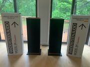 Vandersteen Signature 3a Speakers With Sound Anchor Stands 9/10 Beautiful