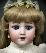 20 Simon And Halbig 1249 Santa Character Child Doll - Antique Bisque-head German