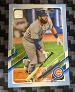 Austin Romine 2021 Topps Series 2 Father's Day Powder Blue Parallel 29/50