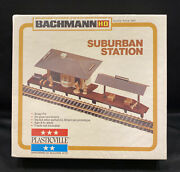 Vintage Bachman Plasticville 2673 Suburban Station For All Ho Scale-sealed