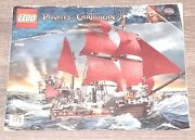Lego 4195 Pirates Of The Caribbean, Queen Anne's Revenge Instructions Only