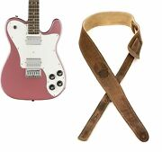 Squier Affinity Series Telecaster Deluxe Electric Guitar - Burgundy Mist With