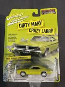 Johnny Lightning Dirty Mary Crazy Larry 1969 Dodge Charger R/t 2017 Series