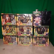 Neca Lot Of 10 Tmnt Toys All Brand New In Box