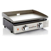 Blackstone 2-burner 22'' Tabletop Griddle With Stainless Steel Front