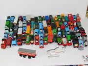 Huge Lot Of 120+thomas The Train Wooden And Die Cast