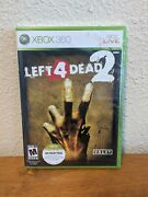 ✅ Left 4 Dead 2 1st Print Xbox 360, 2009 Factory Sealed First Edition Rare New