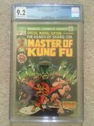 Marvel Special Edition 15 Cgc 9.2 1st Shang Chi Mcu