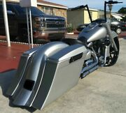 Road Star 5 1/2 Stretched Saddlebags Replacement Fender And 6x9 Lids Fits 99 Andup