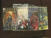 Aliens Music Of The Spears Comic Book Set Lot
