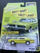 Johnny Lightning Dirty Mary Crazy Rally 1969 Dodge Charger R/t