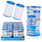 Pool Filters Summer Waves And Mainstays Type A/c, D Or B Swim Pool Spa Pump Filter