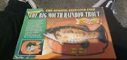 The Big Mouth Rainbow Trout Singing Animated Fish Wall Plaque
