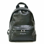 Balenciaga Backpack Day Pack Black Women And039s Fashionable Pitiab _52617