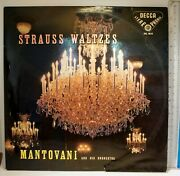Strauss Waltzes Mantovani And His Orchestra Decca Stereo Skl 4010
