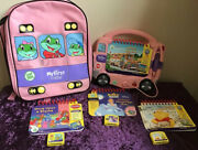 My First Leap Pad Pink Interactive Bus Phonic Sounds Disney Cinderella New Bag